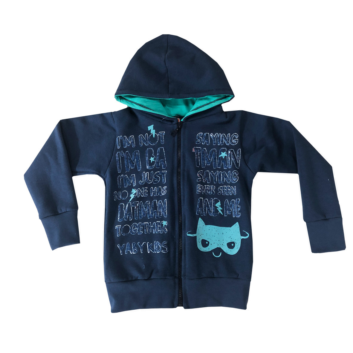 "Campera Frisa Niño ""Not Batman"""