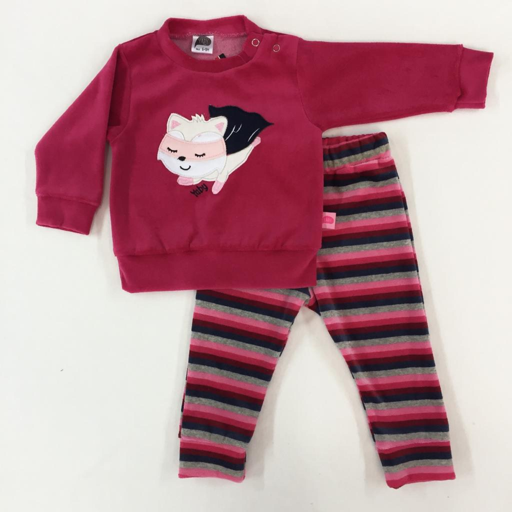 Conjunto de plush nena Super Cat