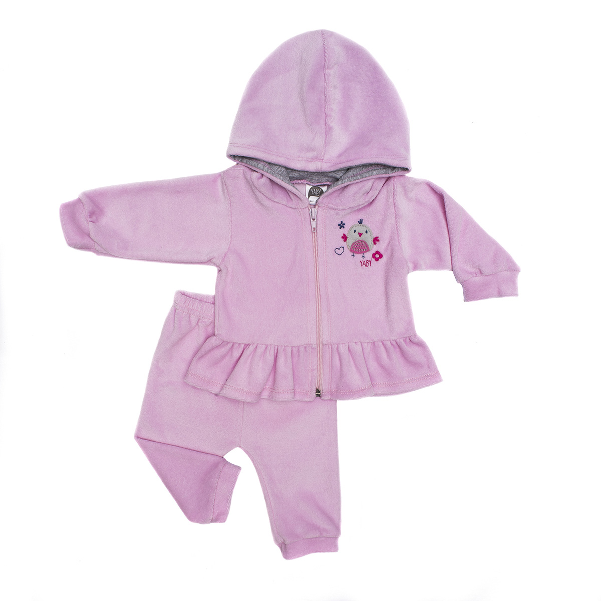 "Conjunto plush C/Cap ""Little Bird"" YABY BEBES"